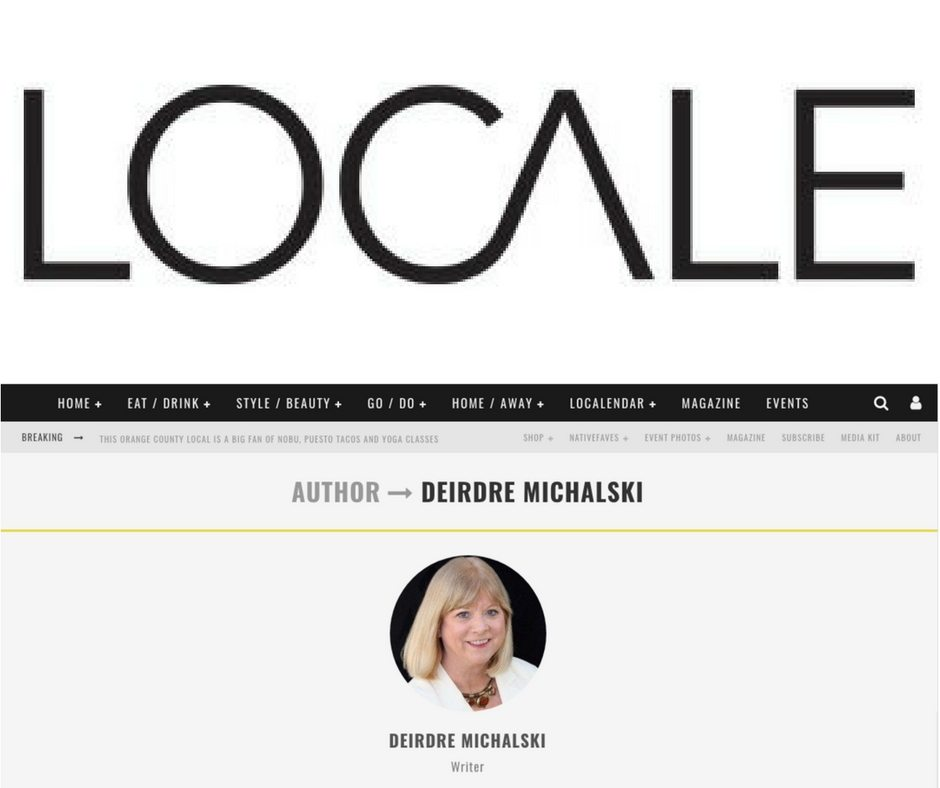Deirdre Michalski for Locale