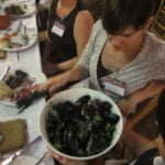 Mussels in Wine Sauce from Whole Foods Grand Opening Fashion Island