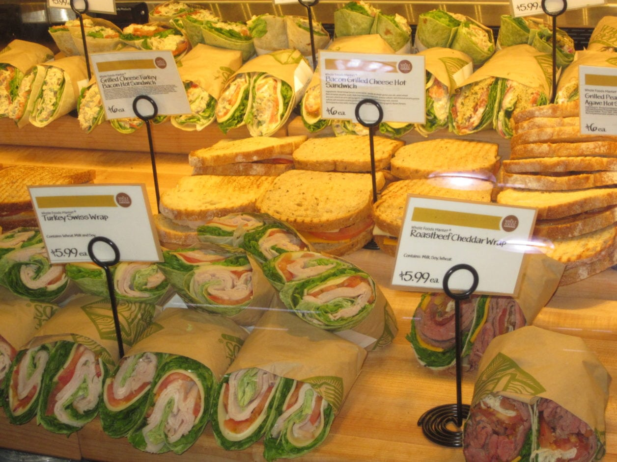Whole Foods —Best Deals To Be Found For A Quick Lunch or Dinner