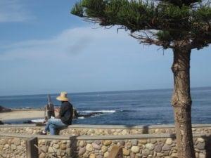 View from The Pantai Inn- La Jolla, CA