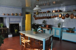 Monet's Blue Kitchen