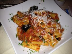 Chef's Creation Eggplant Pasta