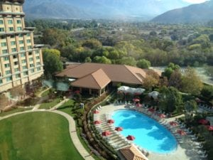 Pala Casion Spa Resort ~ View from 10th Floor