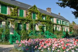 In Giverny Monet's Home- Photo Credit: Ariane Cauderlier