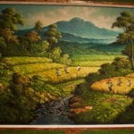 Painting from Bali