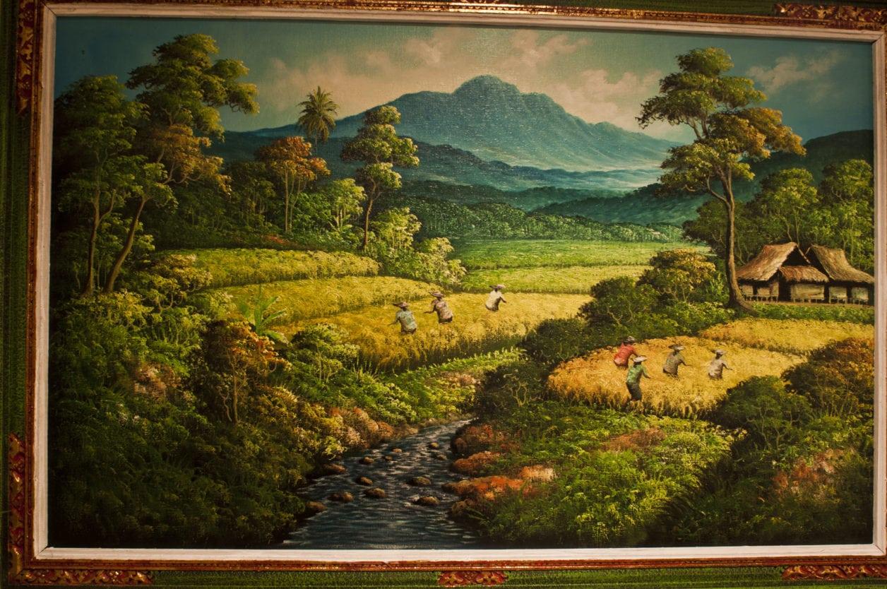 Pantai Indonesian Paintings Bali