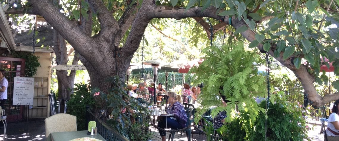 Outdoor Seating In The Garden