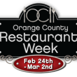 OC Restaurant Week Is Approaching…. Indulge In Something New!!! February 24th through to March 2nd