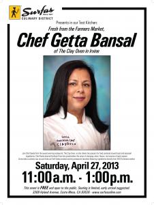 Chef Geeta Bansal