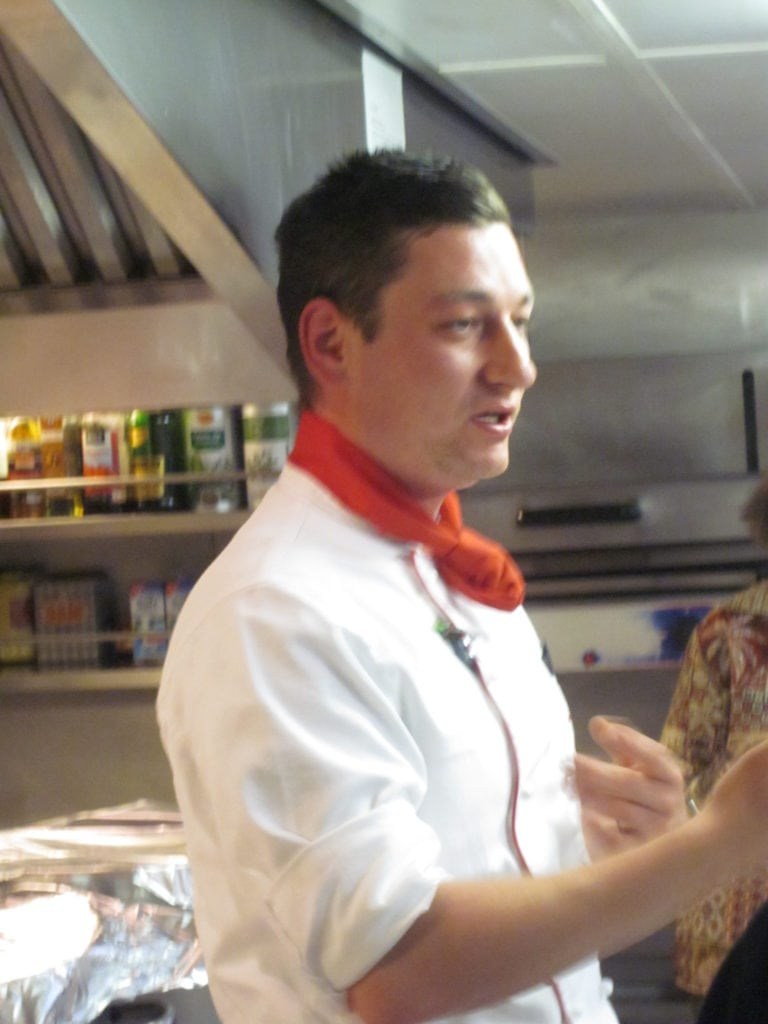 chef interivew executive chef benjamin hausner on a viking river kitchen tour chef benjamin