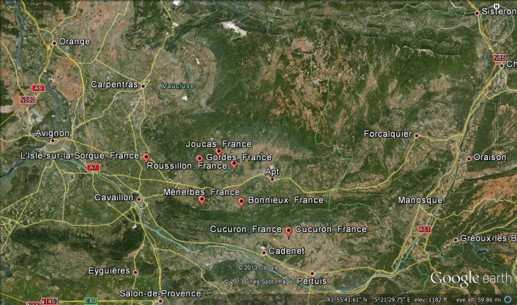 Luberon Maps
