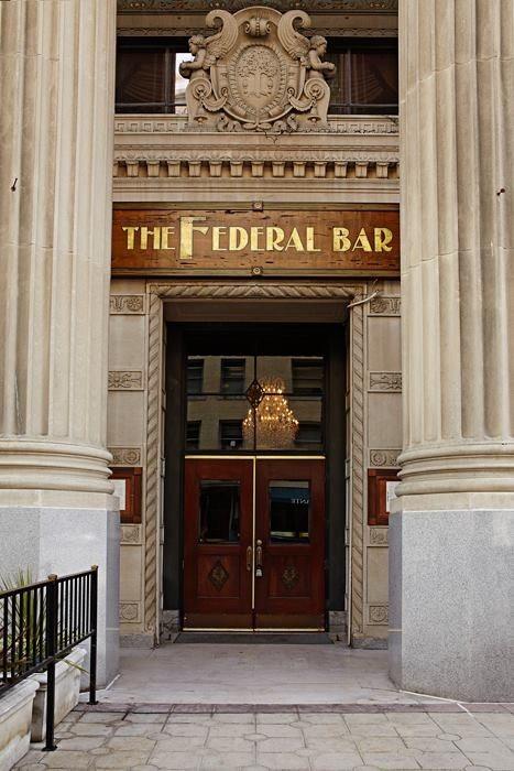 The Federal Bar Entry
