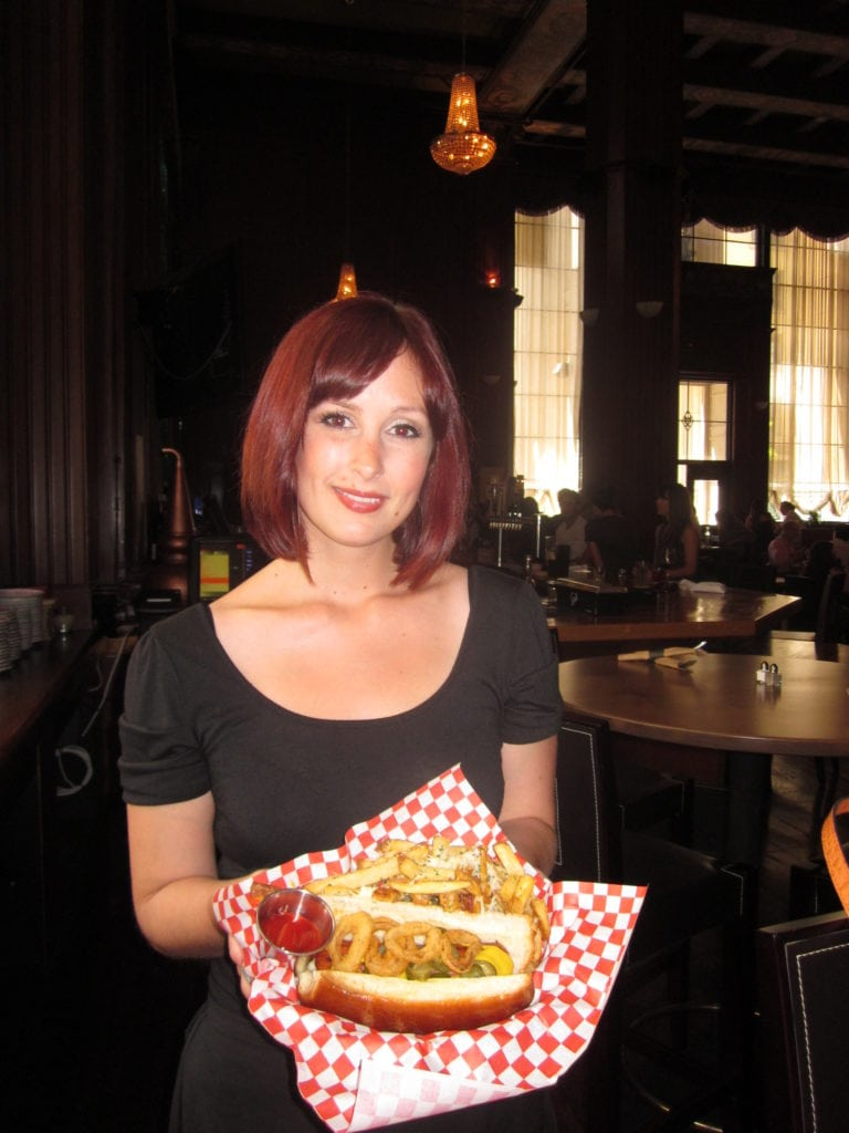 Meet Ashley Montgomery, our exceptional server!