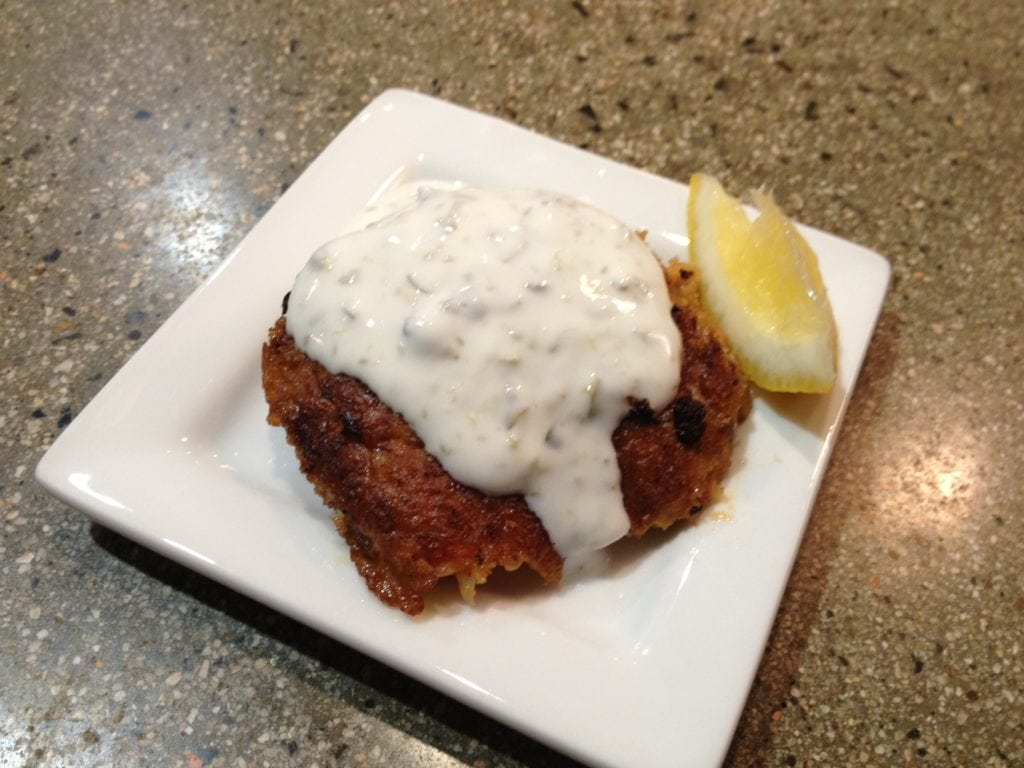 Chris Henry Salmon Cake