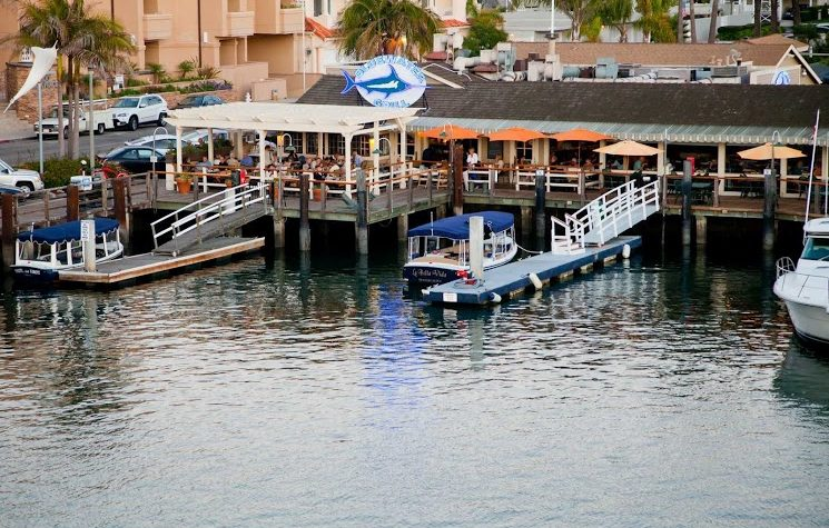 Superb Dockside Dining Bluewater Grill In Newport Beach