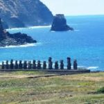 Easter Island 20 Statues near water blogspot