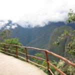 Initial Entry Path to Machu Picchu