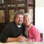 Chef Ugo and Mrs. Andrews