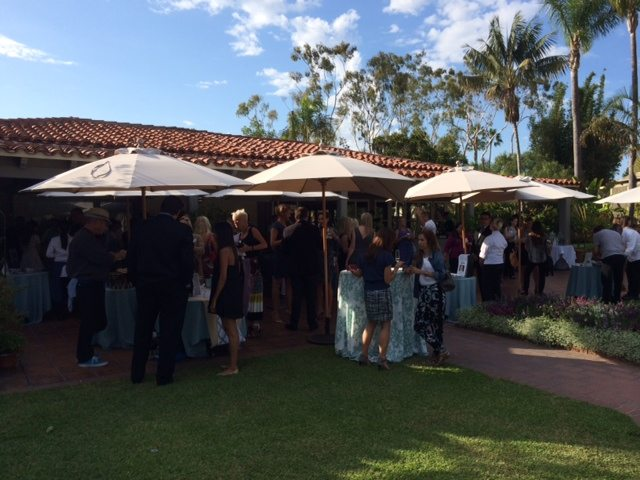 The first annual newport beach wine and food festival for Cafe jardin newport beach