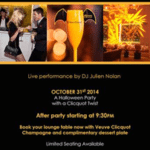 Yelloween Veuve Clicquot Event