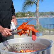 Lobster and Tongs