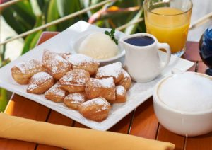 Beignets at Beachcomber
